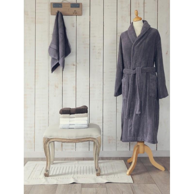 tapis de bain coton lin l au march du linge. Black Bedroom Furniture Sets. Home Design Ideas