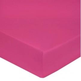 Drap housse Percale Pink, FRANCOIS HANS