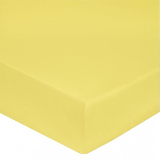 Drap housse Citron
