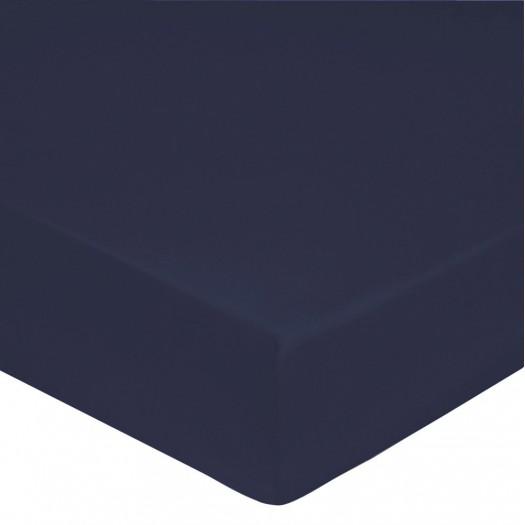 Drap housse Bleu Navy
