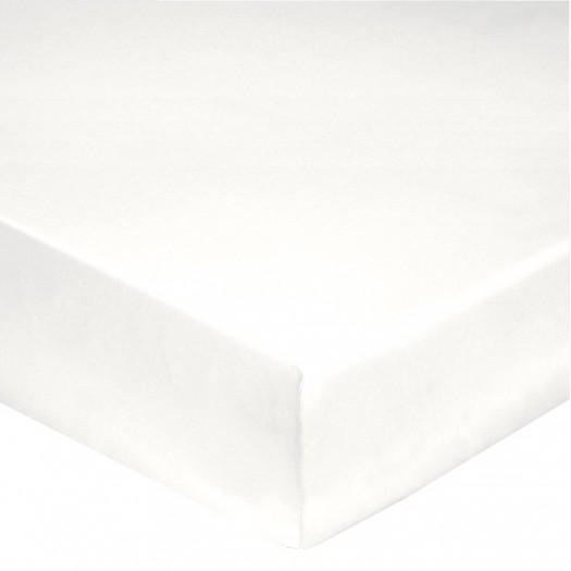 Uni Blanc Percale de Coton