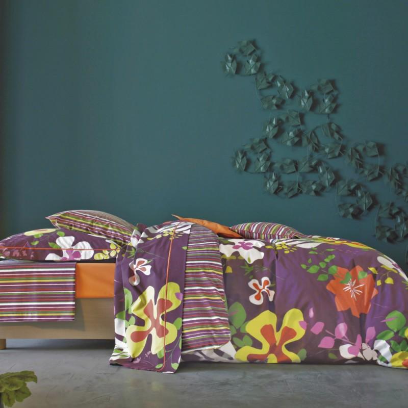 niki cyclamen blanc des vosges l au march du linge. Black Bedroom Furniture Sets. Home Design Ideas