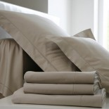 Taie uni Chanvre Percale