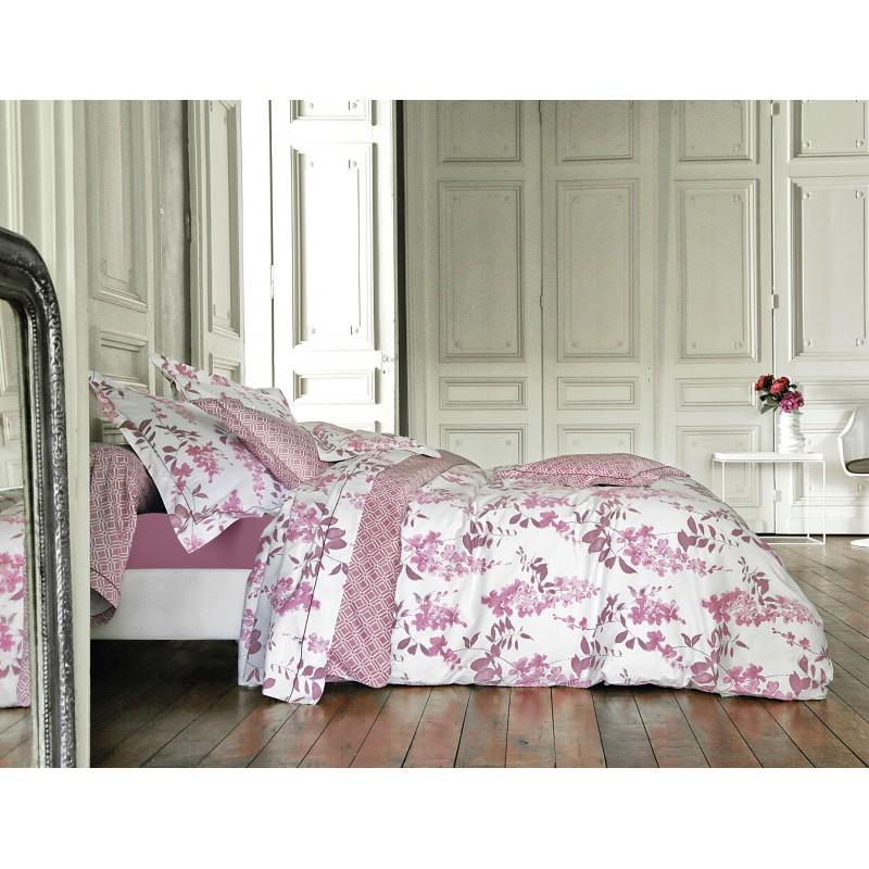 idylle cyclamen sanderson l au march du linge. Black Bedroom Furniture Sets. Home Design Ideas