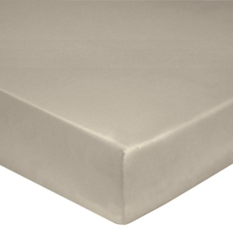 drap housse ficelle coton l au march du linge. Black Bedroom Furniture Sets. Home Design Ideas