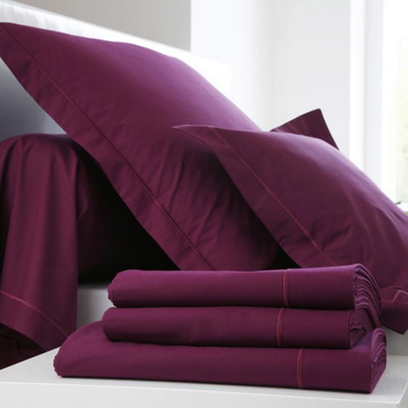 taie cyclamen francois hans l au march du linge. Black Bedroom Furniture Sets. Home Design Ideas