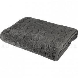Drap de douche BARI Anthracite 450gr Micro coton