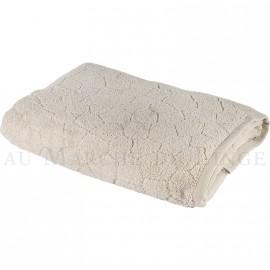 Drap de douche BARI Beige 450gr Micro coton