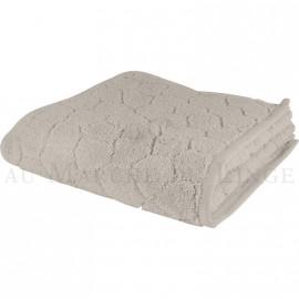 Serviette de toilette BARI Beige 450gr Micro coton