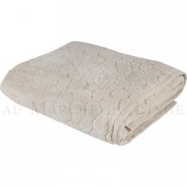 Drap de bain BARI Beige 450gr Micro coton