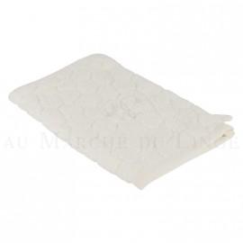 Gant de toilette BARI Ecru 450gr Micro coton
