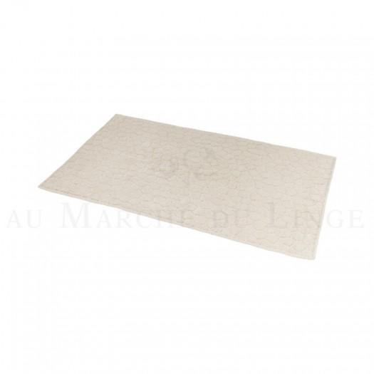 Tapis de bain BARI Beige 50 x 70 cm 1200gr Coton
