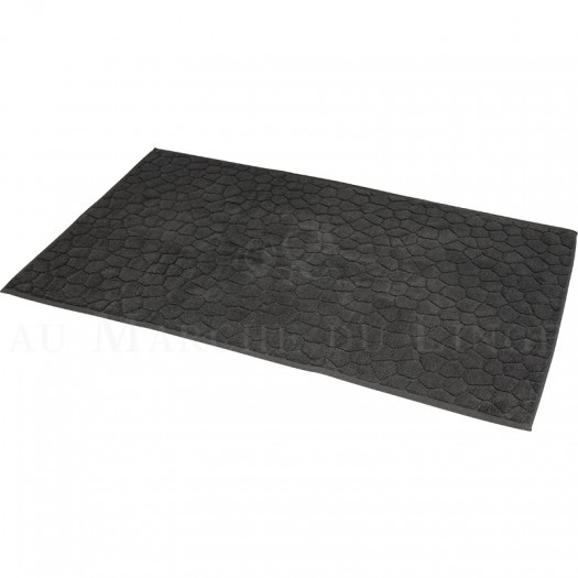 Tapis de bain BARI Anthracite 60 x 100 cm 1200gr Coton