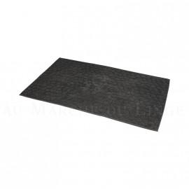 Tapis de bain BARI Anthracite 50 x 70 cm 1200gr Coton