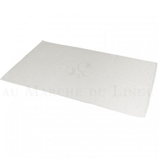 Tapis de bain BARI Ecru 60 x 100 cm 1200gr Coton