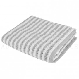 Serviette de toilette BOSTON Gris Perle 450gr coton
