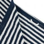 Lot de 2 serviettes + 2 draps de douche + 2 gants BOSTON Marine 450gr coton