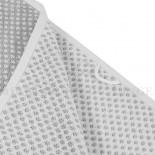 Serviette de toilette BRISTOL Gris Perle 450gr coton