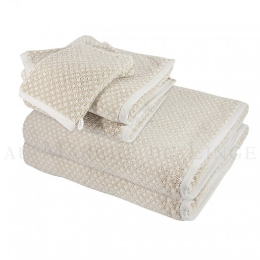 lot de serviettes bristol beige 450gr coton. Black Bedroom Furniture Sets. Home Design Ideas