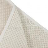 Lot de 2 serviettes + 2 draps de bain + 2 gants BRISTOL Beige 450gr coton