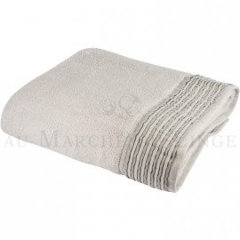 Drap de bain NICE Gris perle 560 gr/m²
