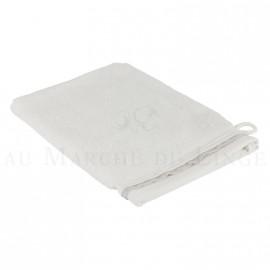 Gant de toilette NICE Blanc 560 gr/m²