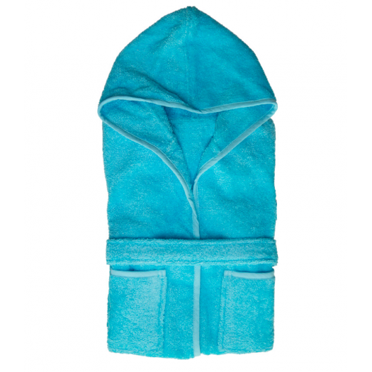 Kids Unis Turquoise,  Coton & Lin
