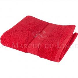 Serviette de Toilette VENUS Rouge 580 gr/m²