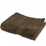 Serviette de Toilette VENUS Chocolat 580 gr/m²