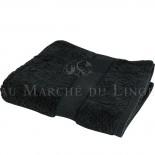Serviette de Toilette VENUS Noir 580 gr/m²
