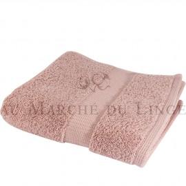 Serviette de Toilette VENUS Rose Poudré 580 gr/m²