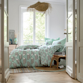 PARURE PERCALE SPIKE Aqua, SCION LIVING