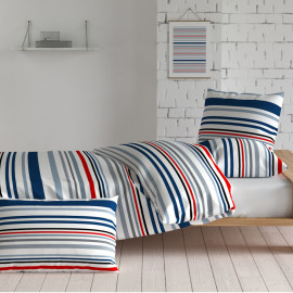 PARURE PERCALE ATLANTIC, INSPIRATION par ANNE DE SOLENE