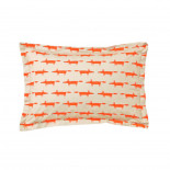 PARURE PERCALE MR FOX Mandarine, SCION LIVING