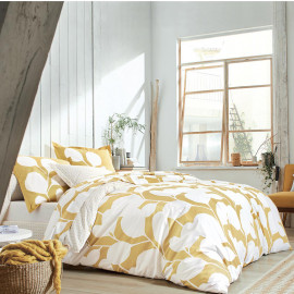 PARURE PERCALE STEPPES Ocre, SCION LIVING