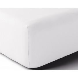 Drap housse Percale Blanc, ANNE DE SOLENE