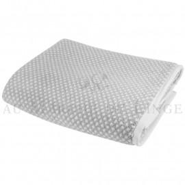 Lot de serviettes BRISTOL Gris Perle 450gr coton