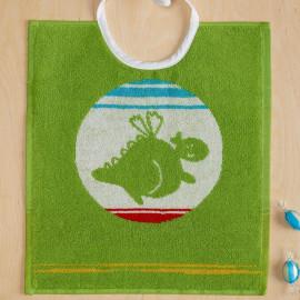 Bavoir enfant Dragon vert, DRACO De Witte Lietaer