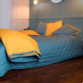 Couvre lit piqué de coton matelassé Eclat, COTON&LIN