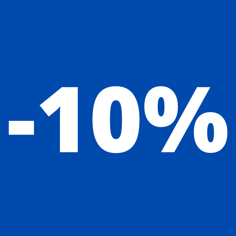 Collections -10%