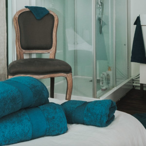 Venez découvrir notre collection de serviettes éponge 580gr/m² - 100% coton